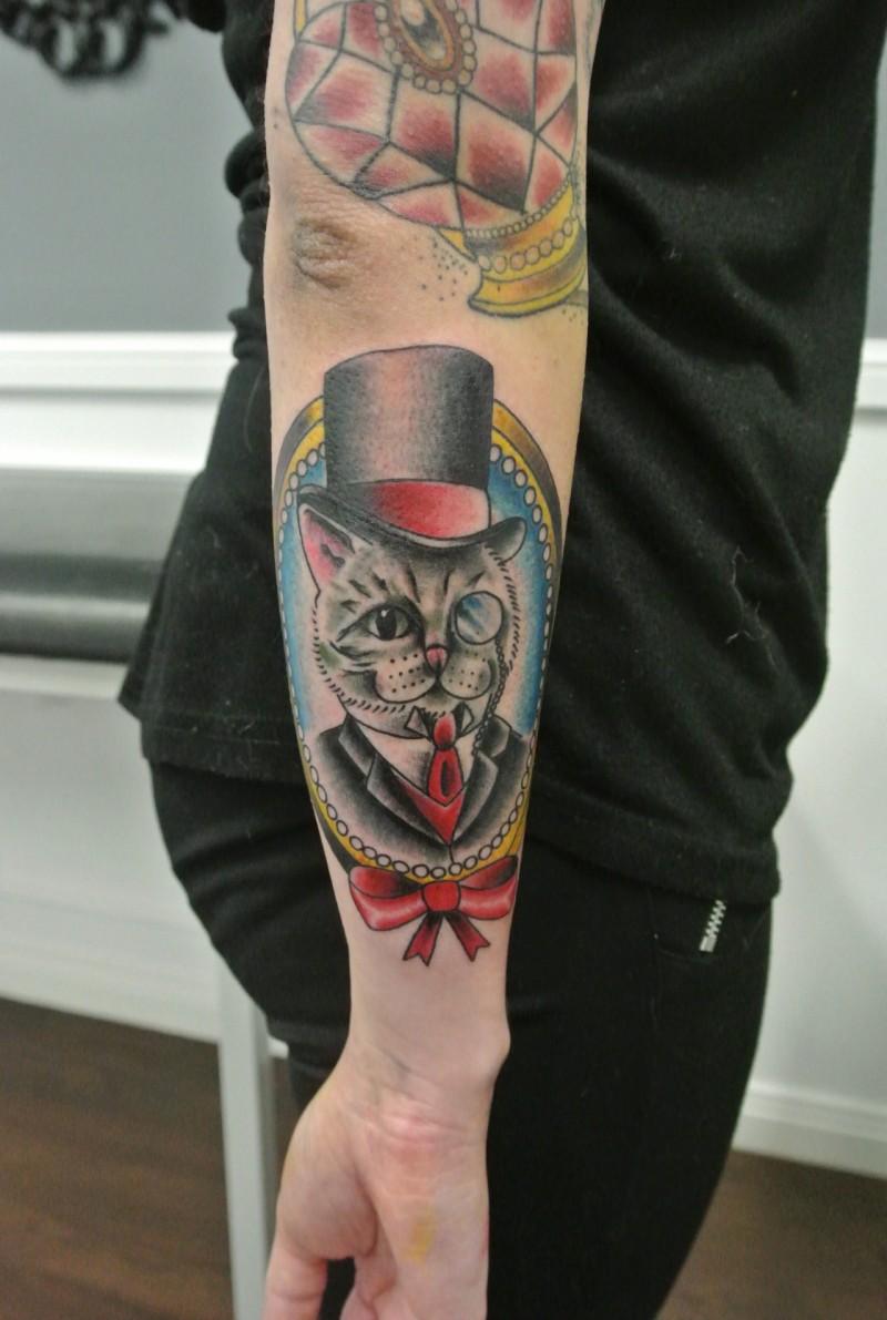 Genial katze bilder teil 8 for Tattoo school listings