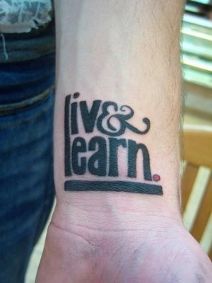 27 Cool Live Laugh Love Tattoos Pictures - WPJournals