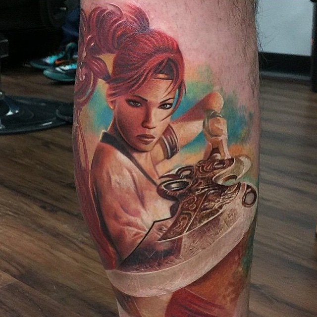Parchment Tattoo Designs