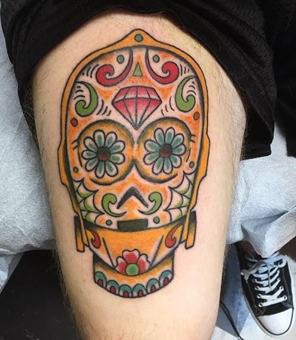 81 Detaillierte Tattoos Am Kopf: Cool Mexikanisch Design